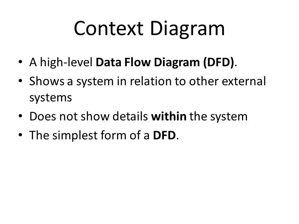 Data Flow Diagrams Dfd Context Diagrams Data Flow Diagrams Dfd