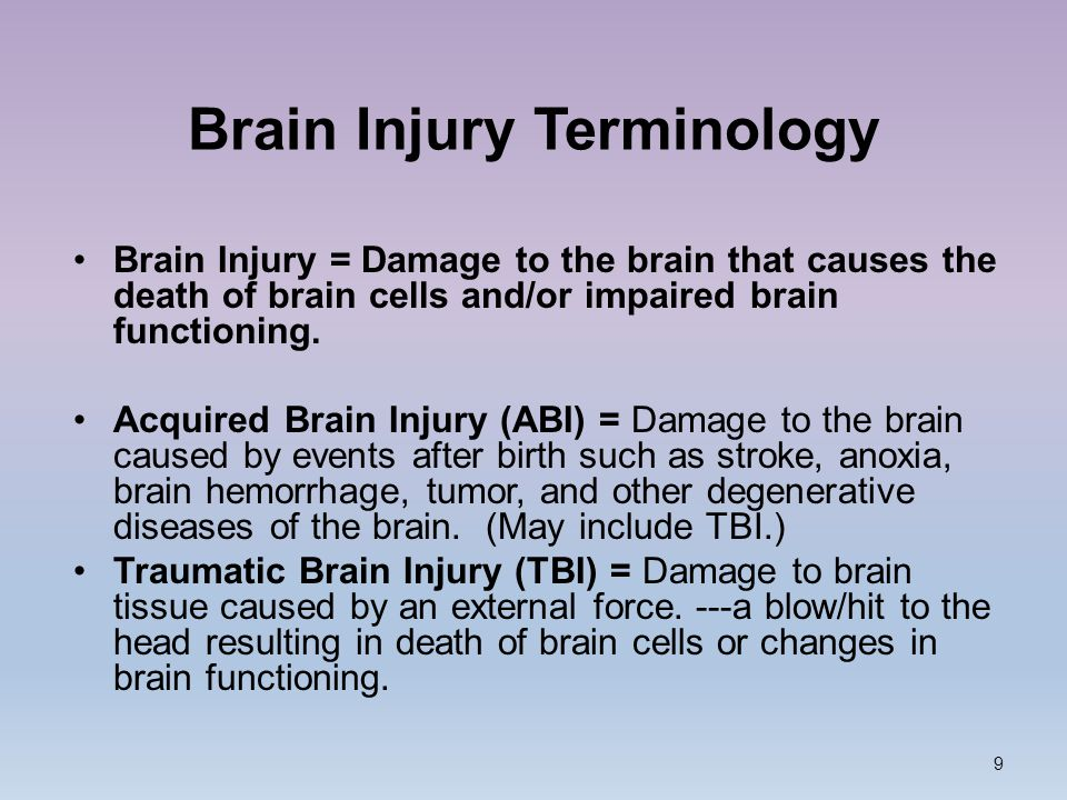 Understanding And Helping Students With Brain Injury