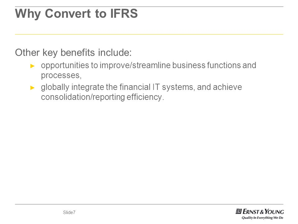 Implications of IFRS By Dr  Martin Ikpehai Martin  ey - ppt download