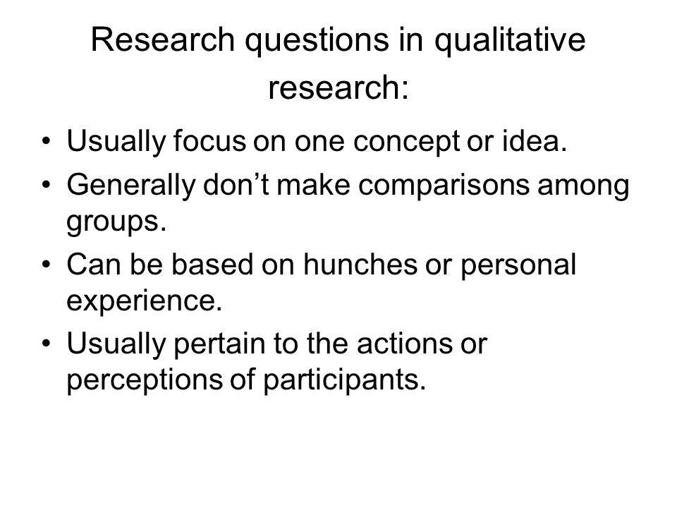 how to make a qualitative research question unisa