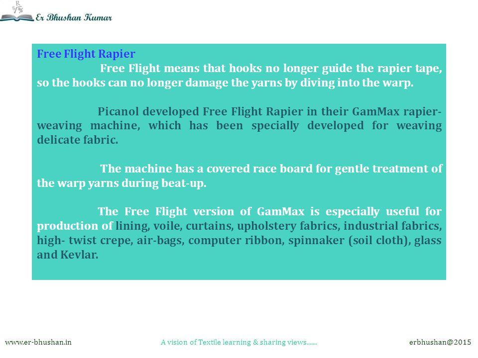 Recent Developments in Rapier Weaving Machines in Textiles … ppt