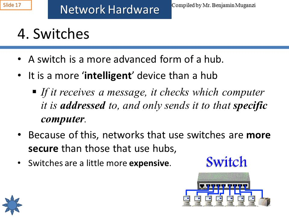 4. Switches Network Hardware