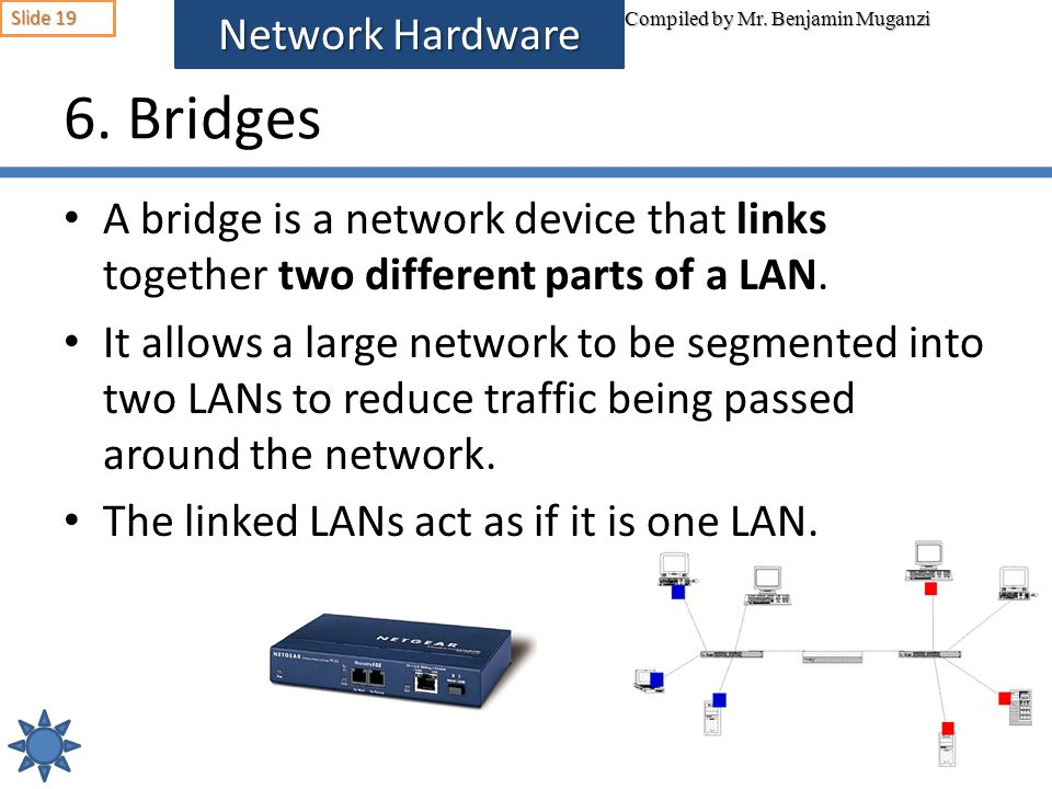 6. Bridges Network Hardware