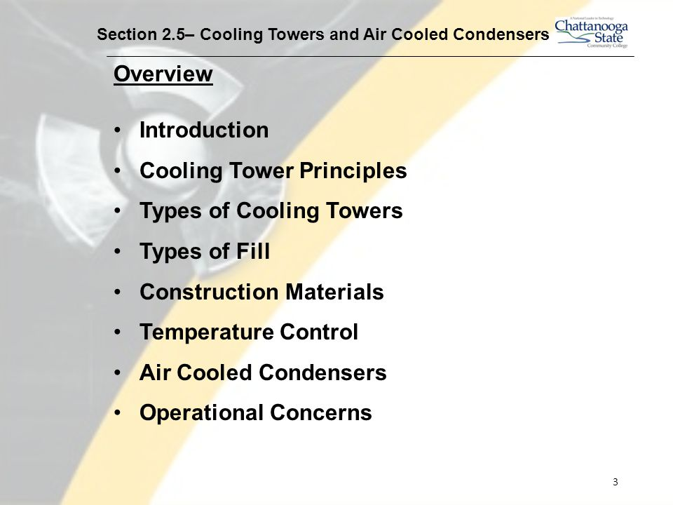 Cooling Towers and Air Cooled Condensers - ppt video online download