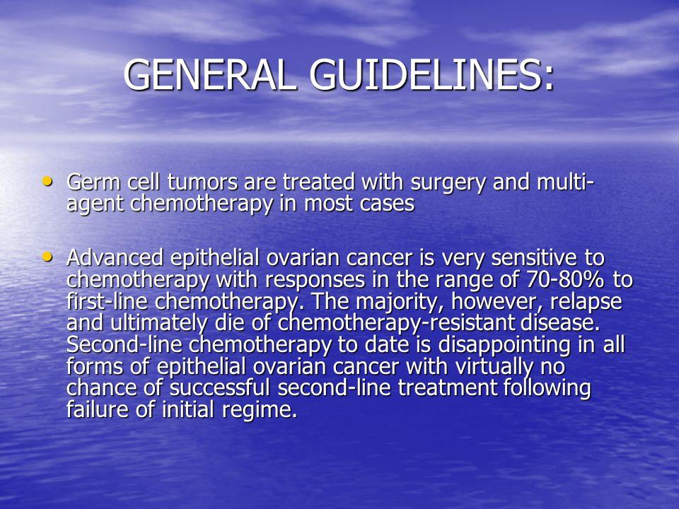 management of ovarian cancer pdf