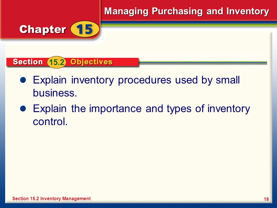 Managing Purchasing and Inventory - ppt video online download