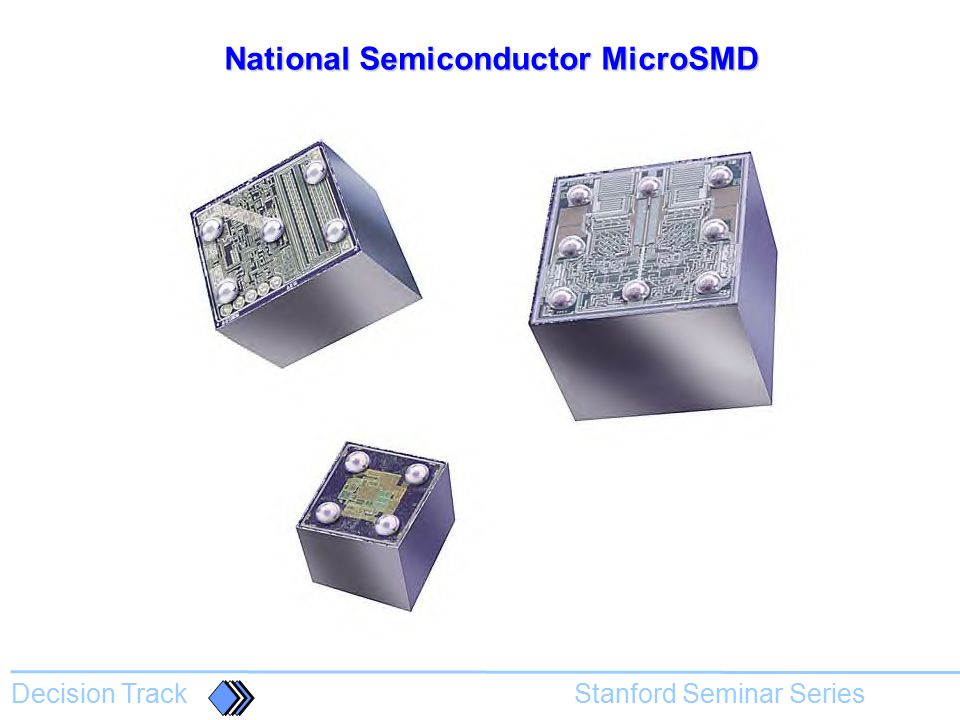National Semiconductor MicroSMD