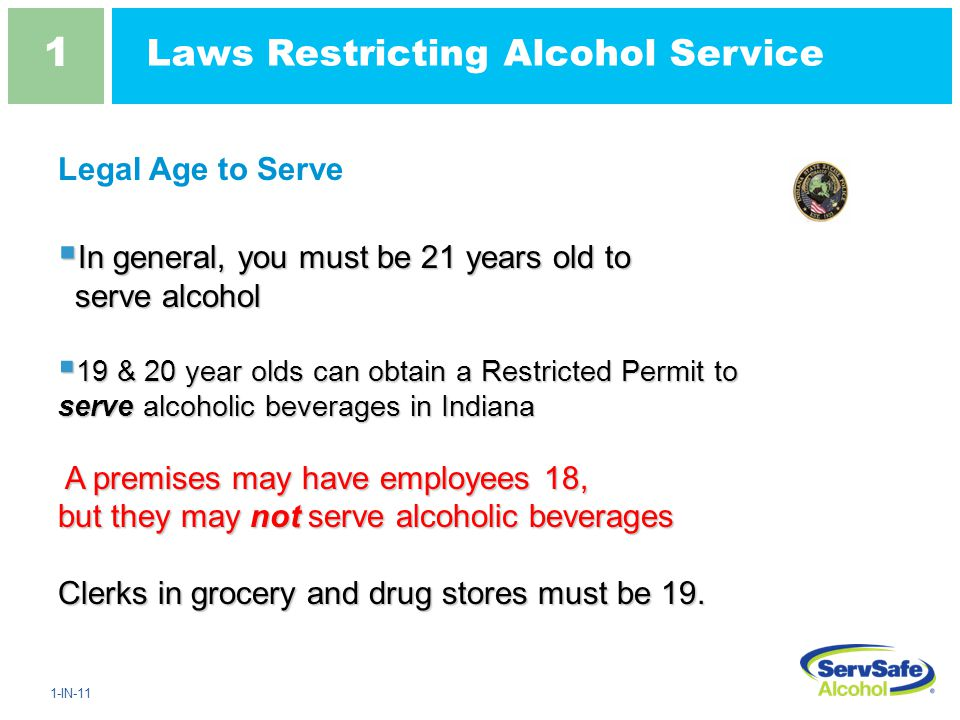 1 1 alcohol law and your responsibility - ppt download