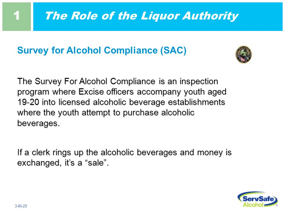 1 1 Alcohol Law And Your Responsibility Ppt Download