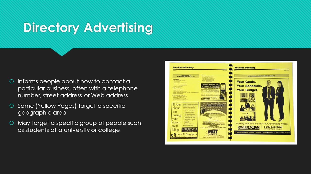 Directory Advertising