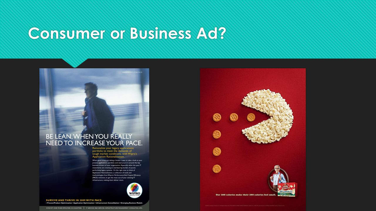 Consumer or Business Ad