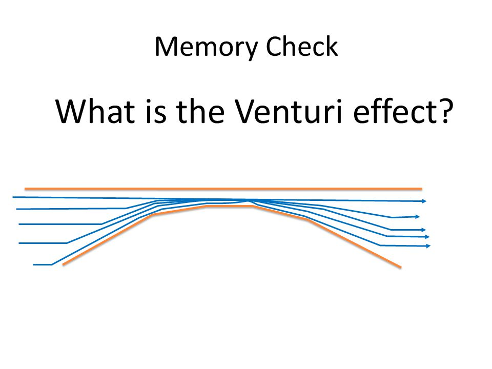 What is the Venturi effect