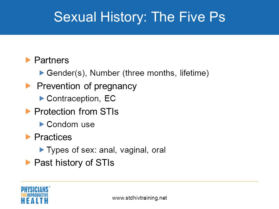 Phrase opinion History sexual protection