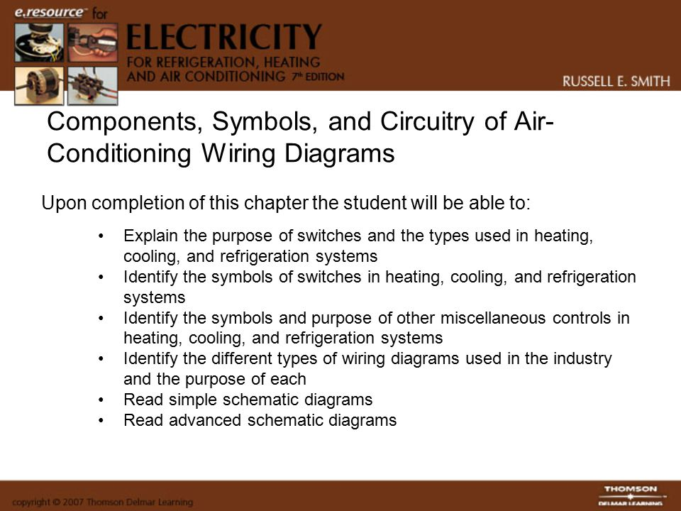 Components, Symbols, and Circuitry of Air-Conditioning ... on series and parallel circuits diagrams, transformer diagrams, troubleshooting diagrams, engine diagrams, electronic circuit diagrams, lighting diagrams, switch diagrams, gmc fuse box diagrams, sincgars radio configurations diagrams, pinout diagrams, smart car diagrams, internet of things diagrams, friendship bracelet diagrams, motor diagrams, honda motorcycle repair diagrams, battery diagrams, hvac diagrams, led circuit diagrams, electrical diagrams,