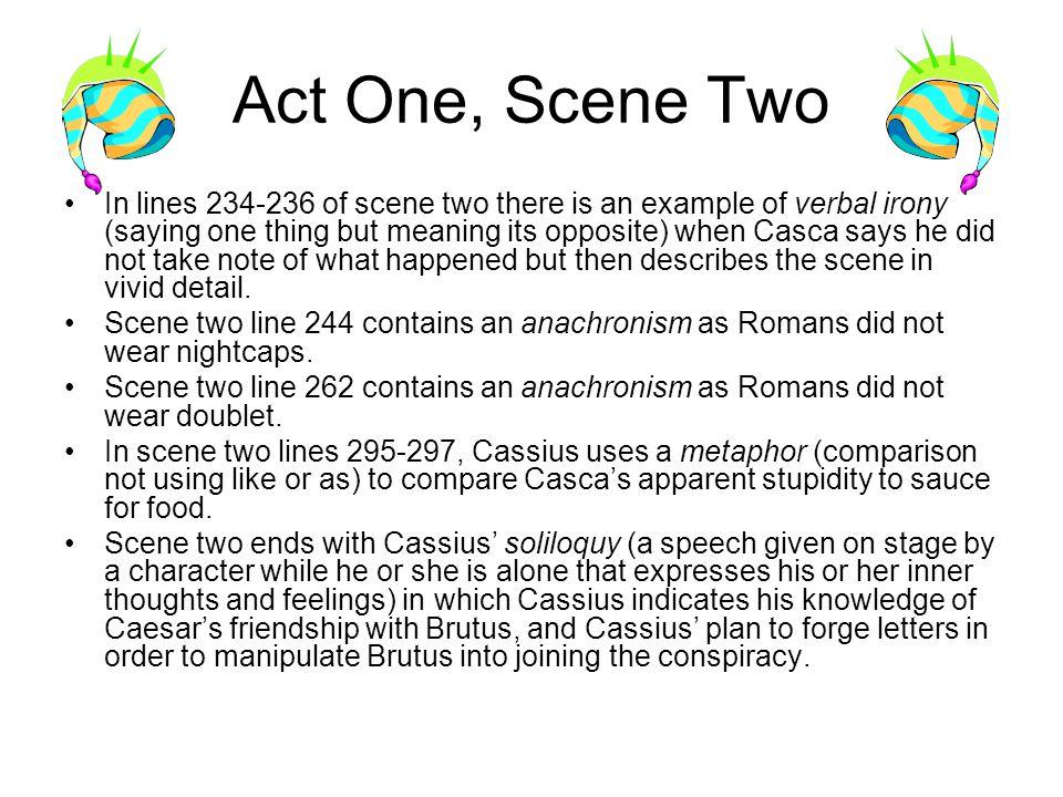 examples of irony in julius caesar