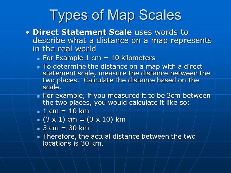 Map Scales CGC1D. - ppt video online download