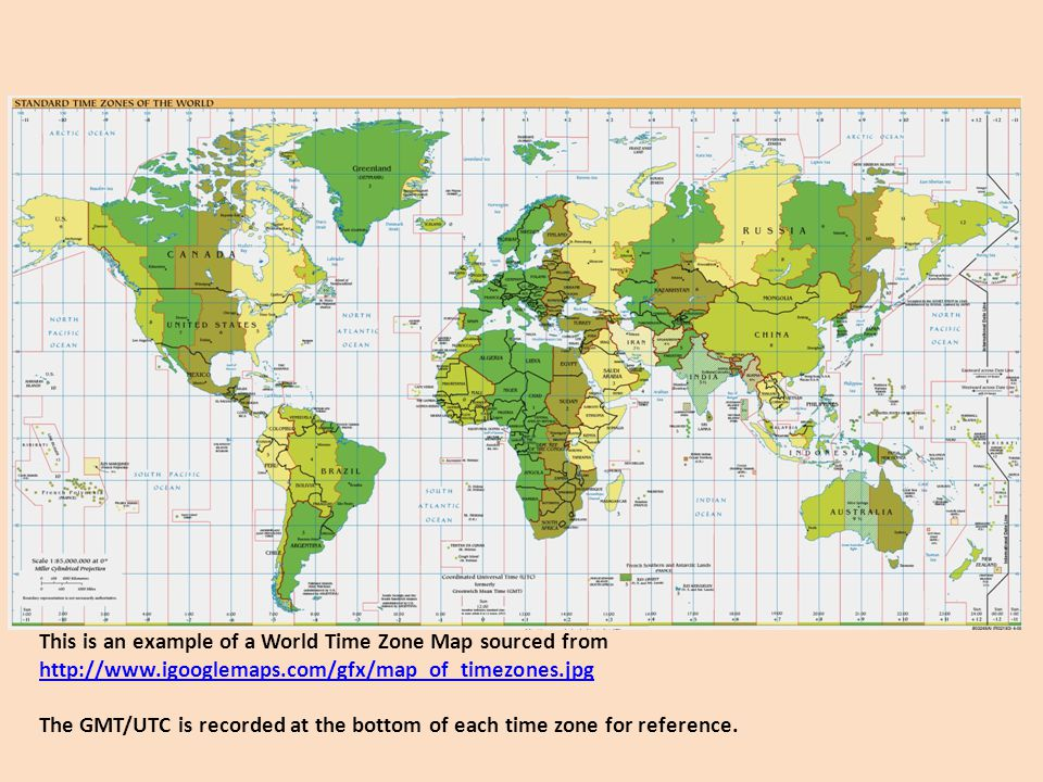 International Time Zones - ppt video online download