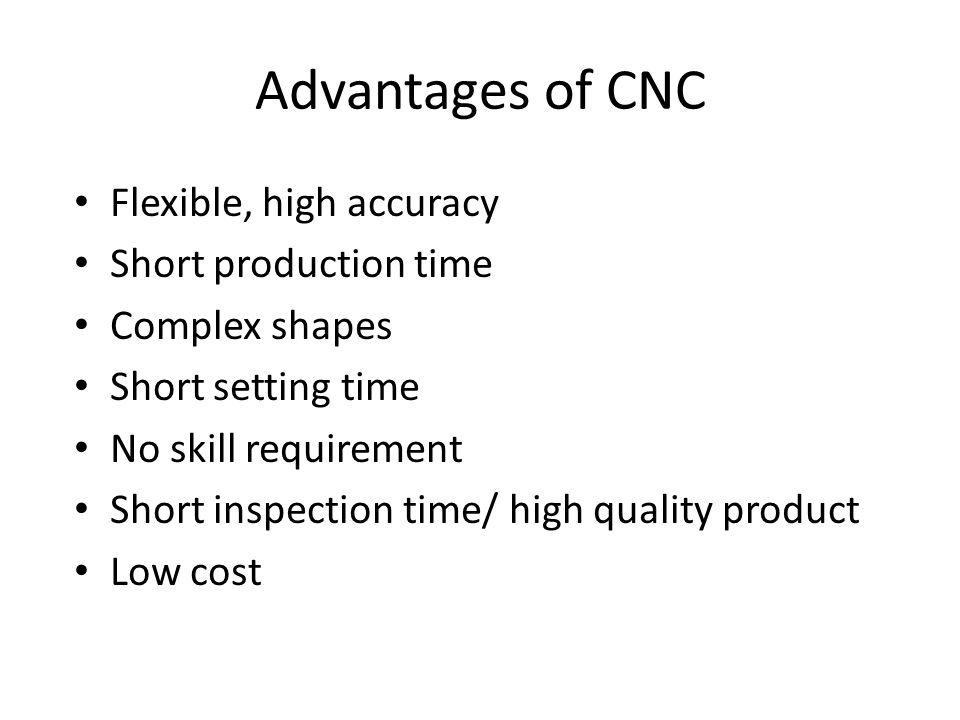 Outline 1. Introduction to CNC machine 2. Component and Function ...