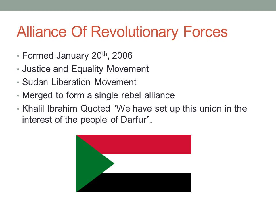 Alliance Of Revolutionary Forces