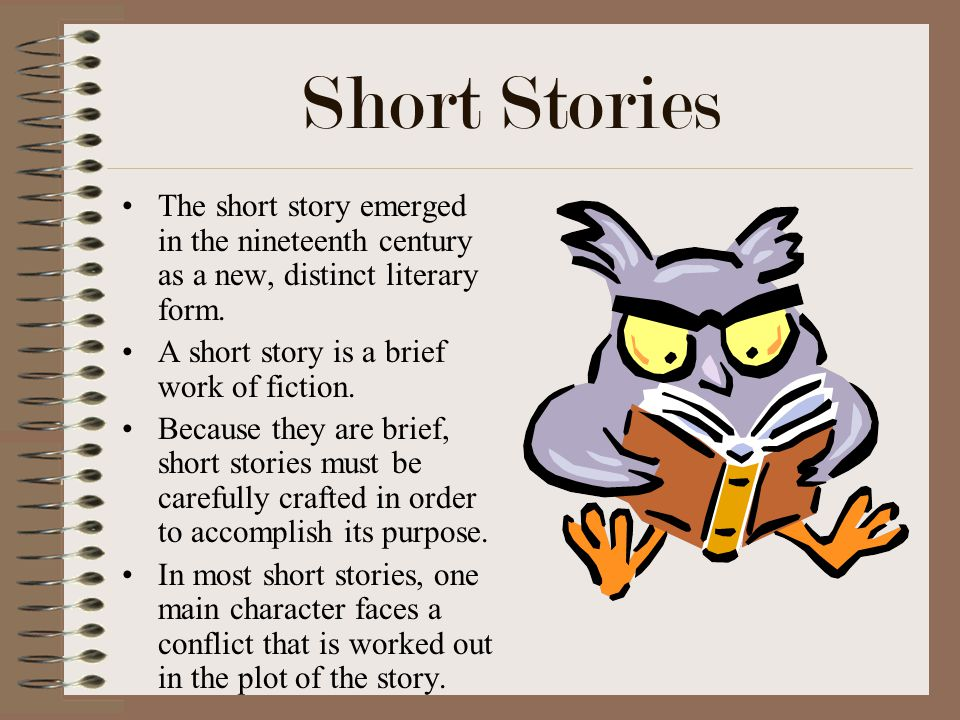 Short Stories The Story Emerged In Nineteenth Century As A New Distinct Literary