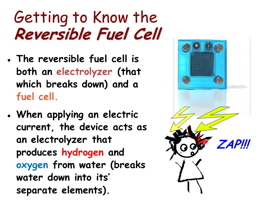 Getting to Know the Reversible Fuel Cell
