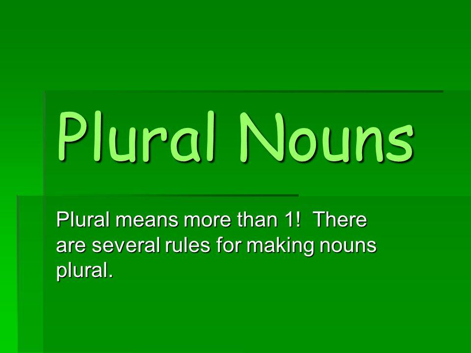 Implications of pluralism