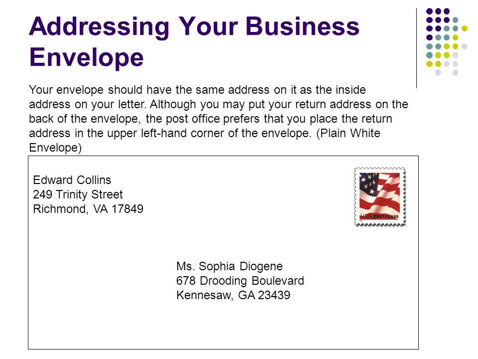 Business Letters EQ: How do we write a business letter?   ppt download