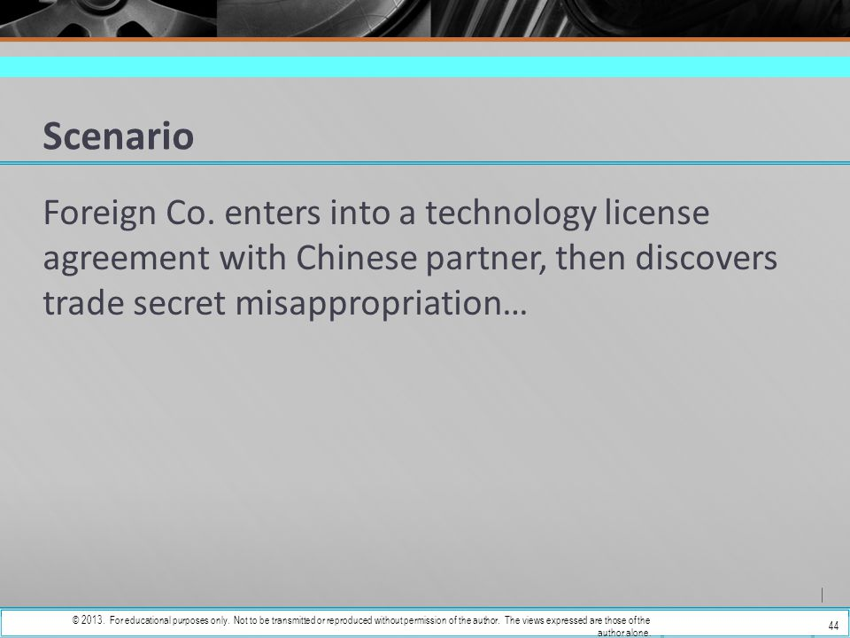 Fundamentals Of Licensing Intellectual Property In China Ppt Download