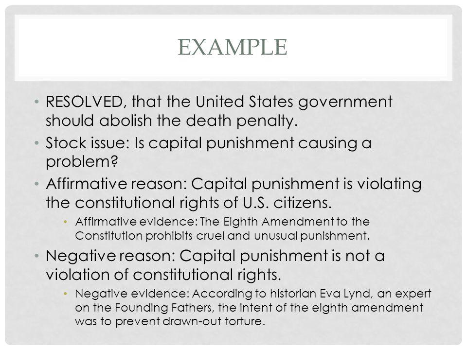 speech against capital punishment