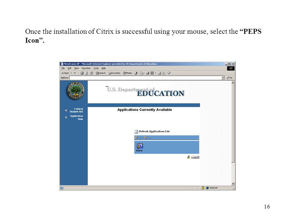 Citrix Metaframe Solution Software Installation - ppt download