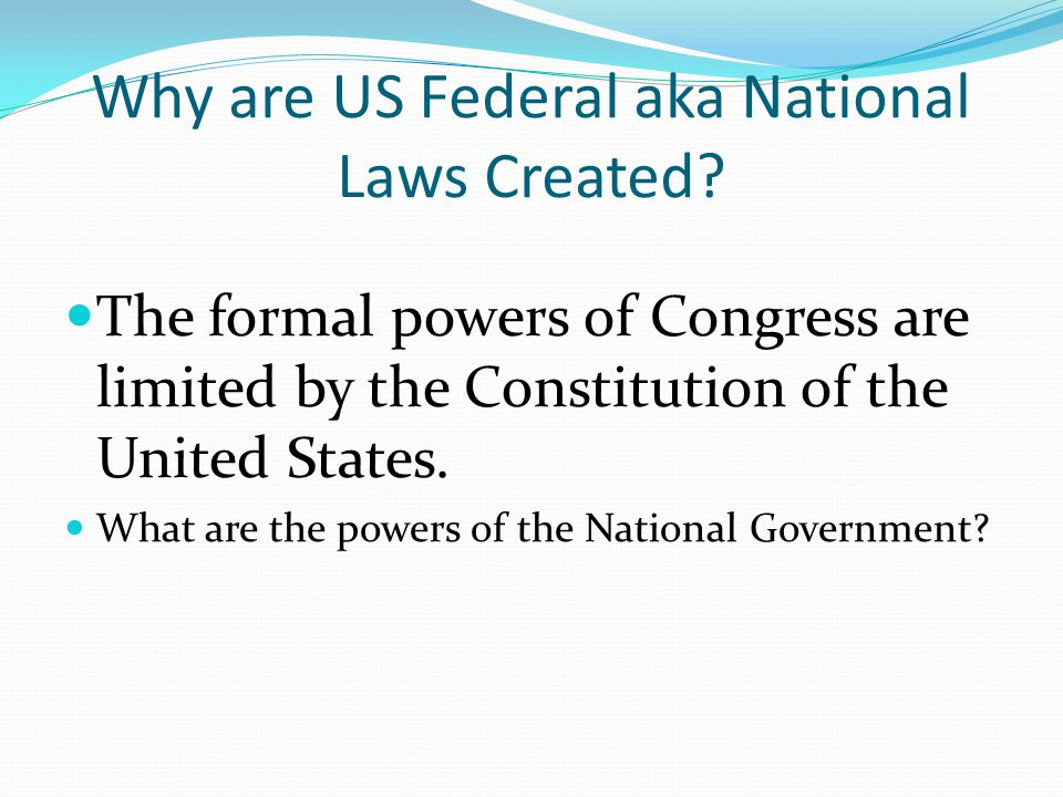 Federalism Separation Of Powers Amp Checks And Balances