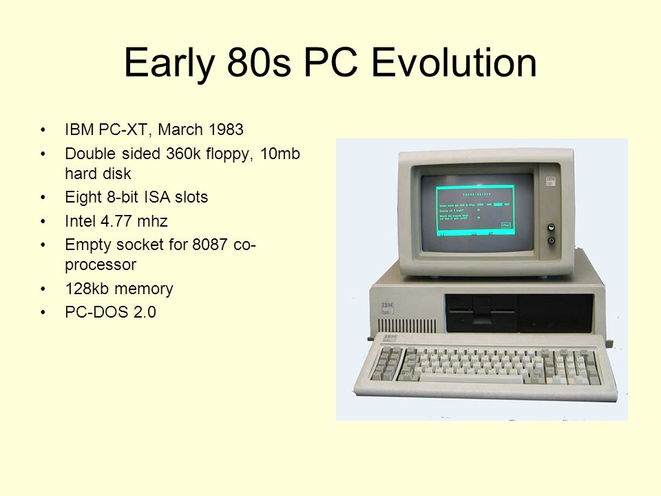 25th Anniversary of the IBM PC - ppt video online download