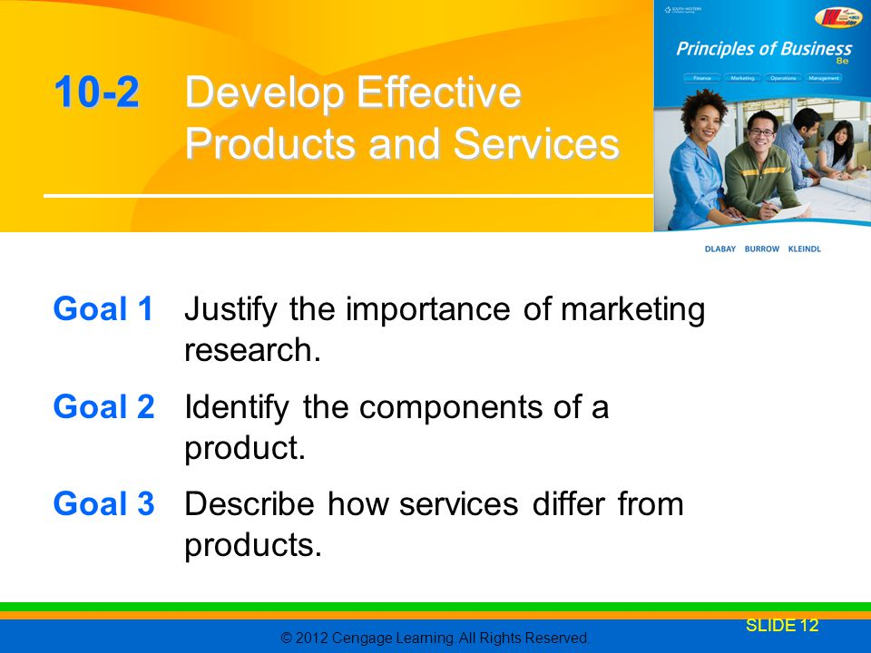 10-2 Develop Effective Products and Services