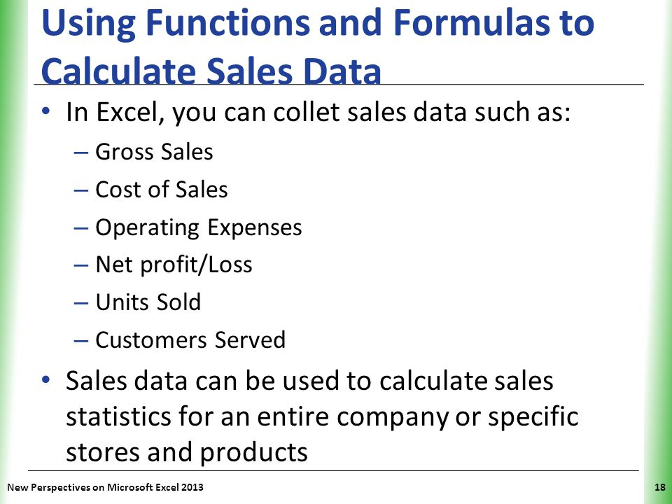 Tutorial 2 Formatting Workbook Text and Data - ppt video