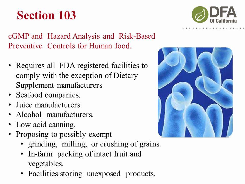 List Of Fda Registered Food Facilities