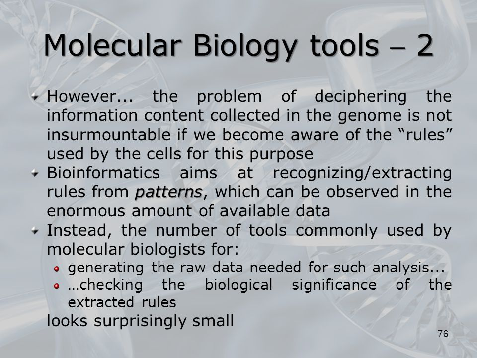 Molecular Biology and Biochemistry - ppt download