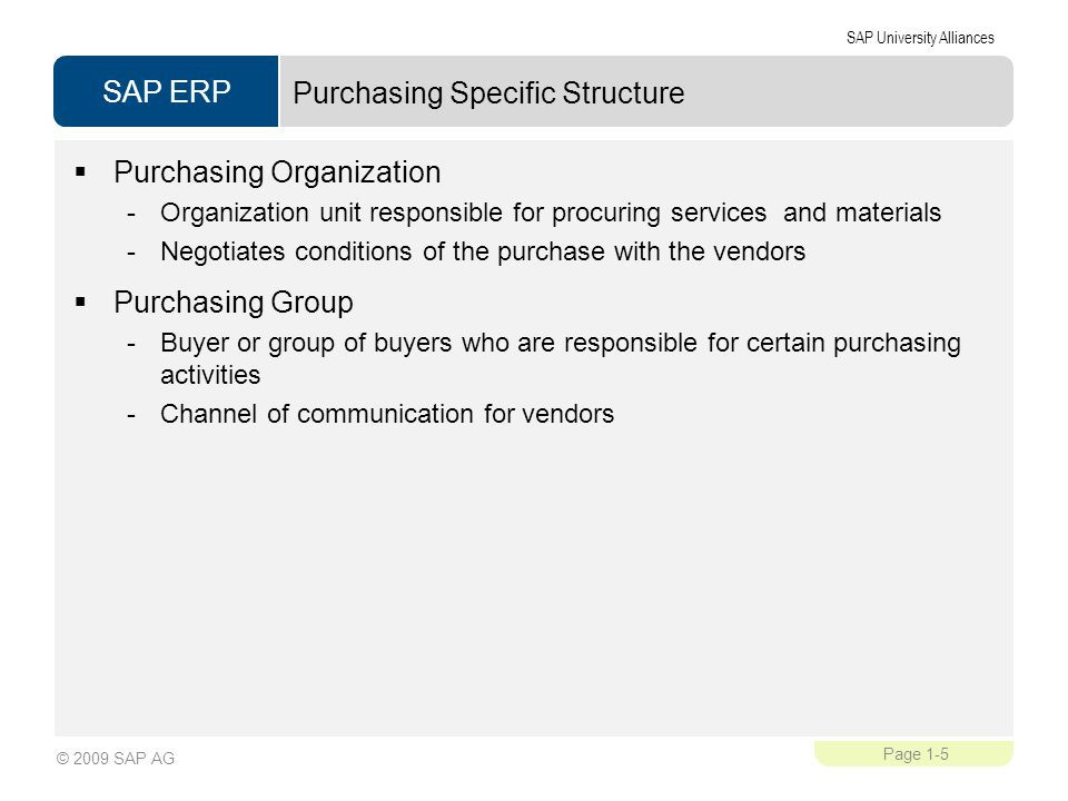 Purchasing Specific Structure