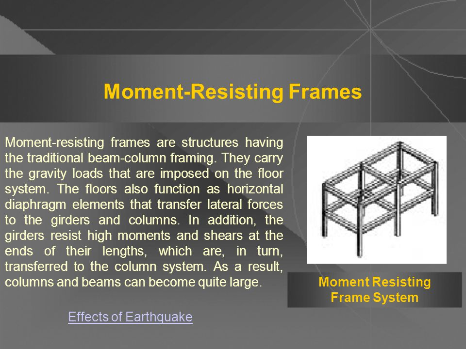 for Earthquake Resistance - ppt video online download