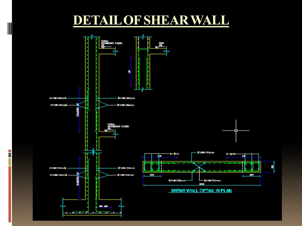 SEISMIC ANALYSIS WITH SHEAR WALLS - ppt video online download