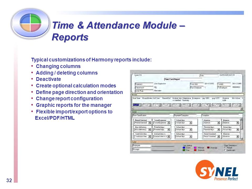 Biometric Attendance Report In Excel