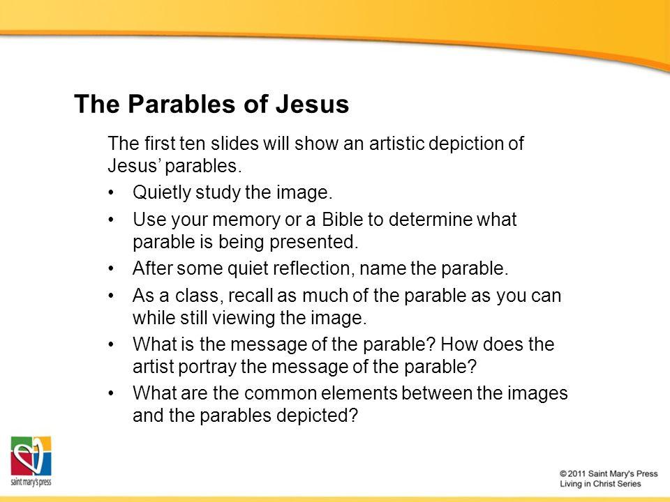 the parables of jesus jesus christ course document tx ppt download