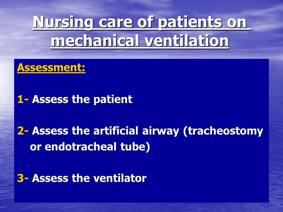 Mechanical ventilation for nursing ppt video online download.