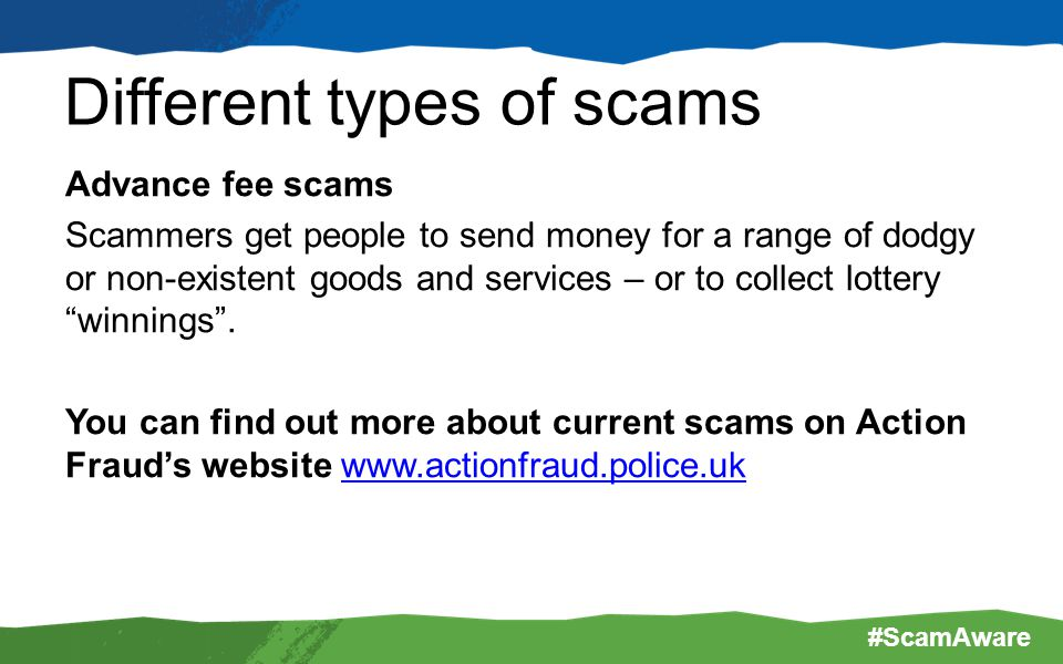 Diffe Types Of Scams