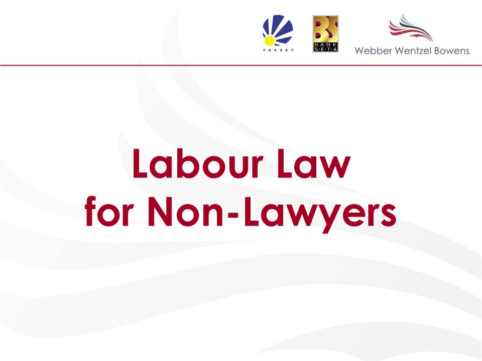 labour law for non lawyers ppt download rh slideplayer com