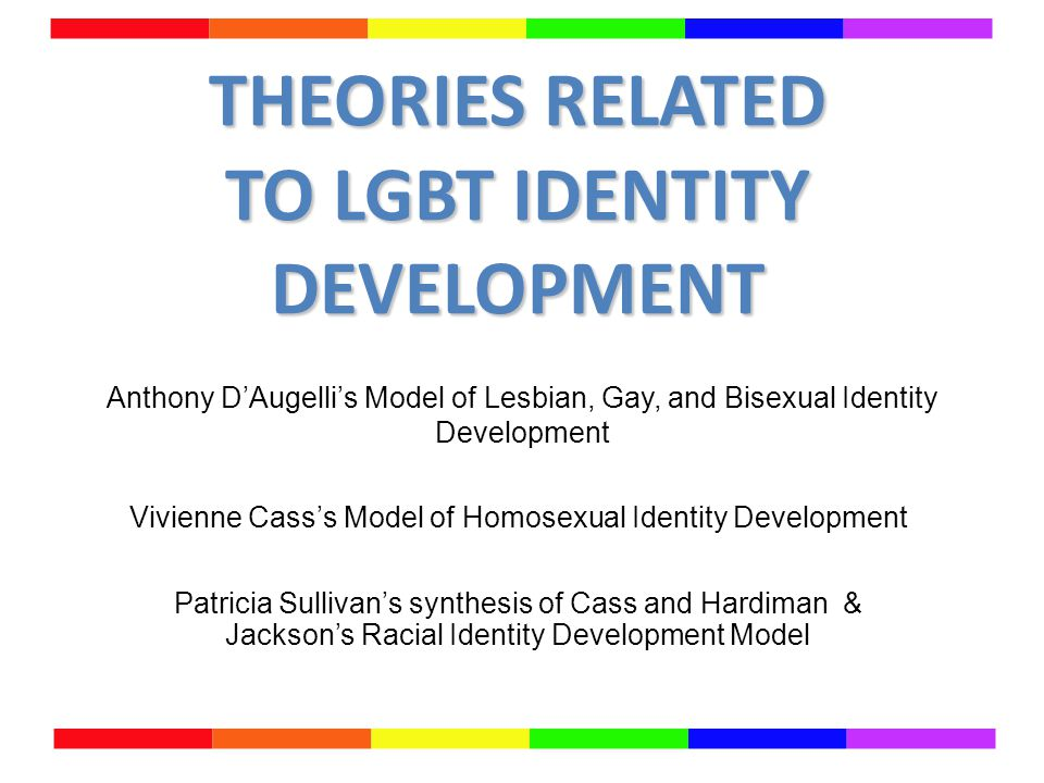Gay and lesbian identity development