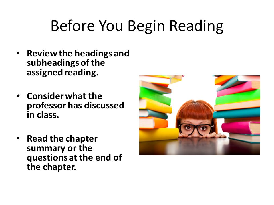 Before You Begin Reading