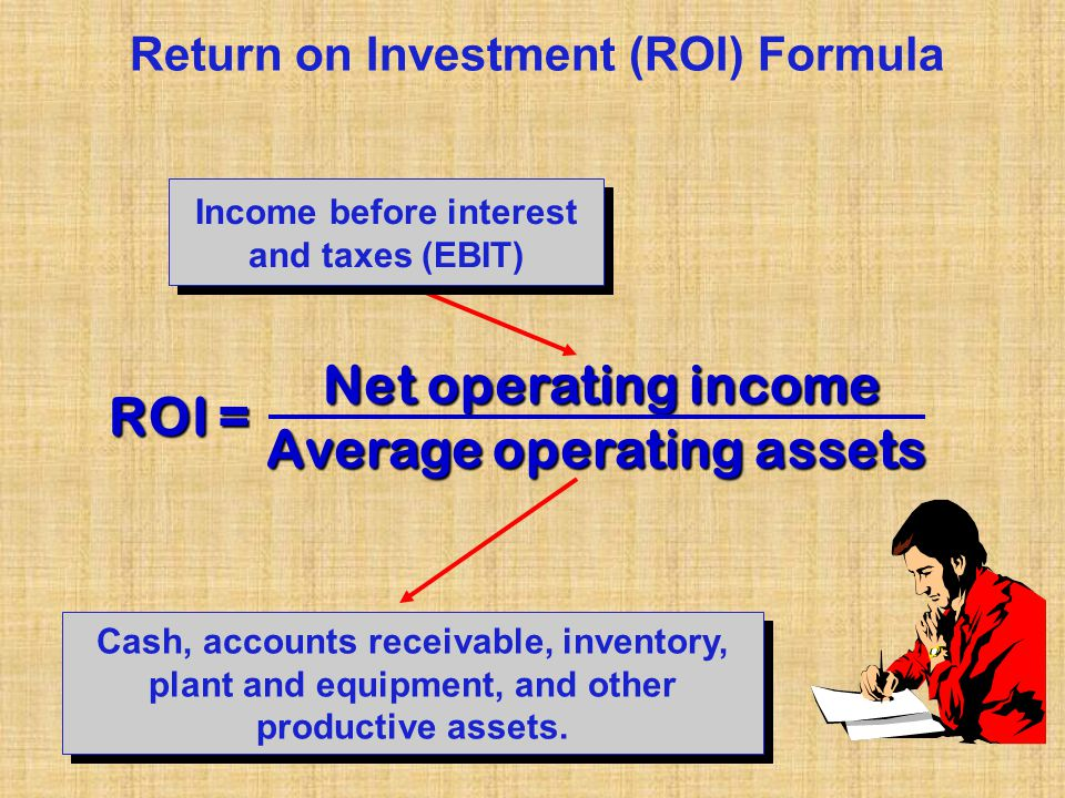 ROI, Residual Income, and Economic Value Added - ppt video online