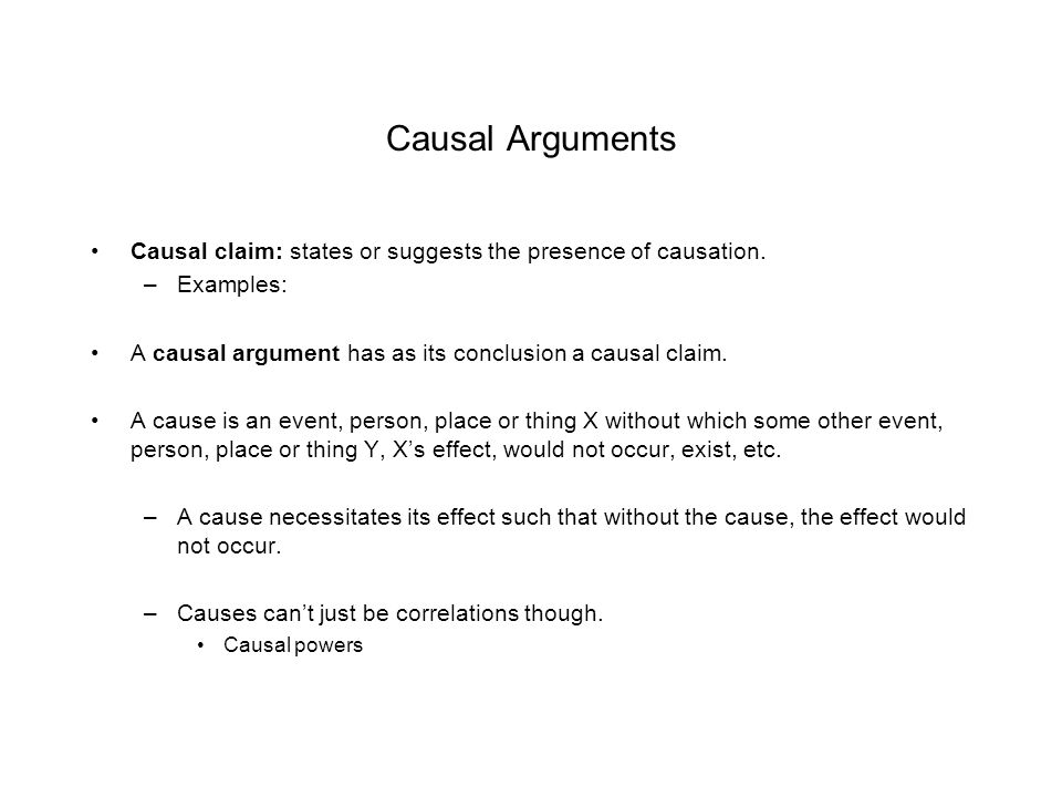 Critical Thinking Lecture 12 Causal Arguments Ppt Download