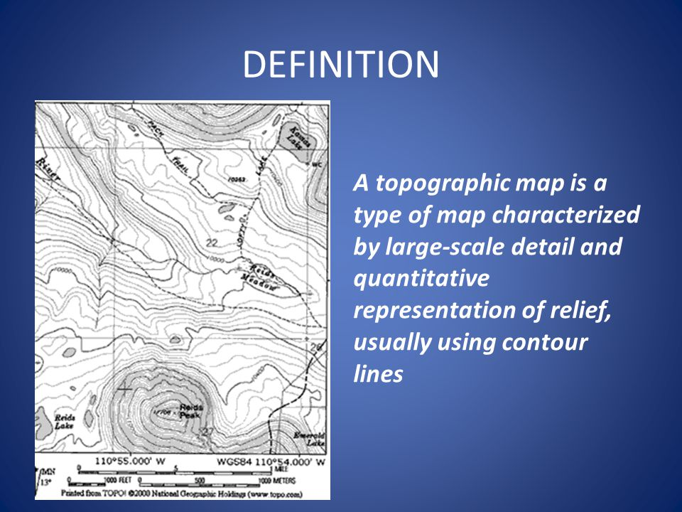 How To Calculate Relief On A Topographic Map.Topographic Map Ppt Video Online Download