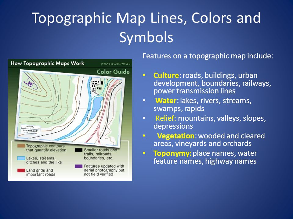 TOPOGRAPHIC MAP.   ppt video online download